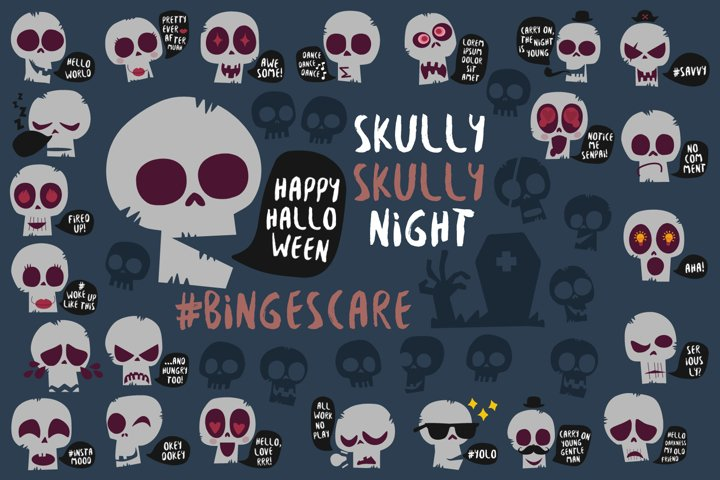 #BINGESCARE: Skully Skully Night