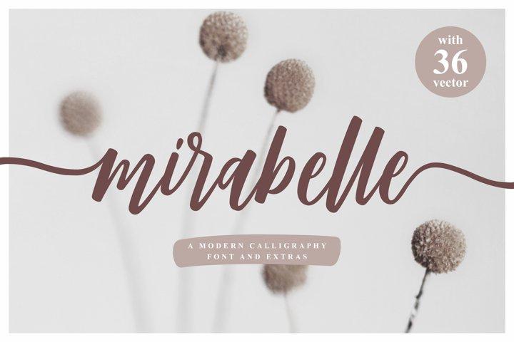 Mirabelle - Modern Script