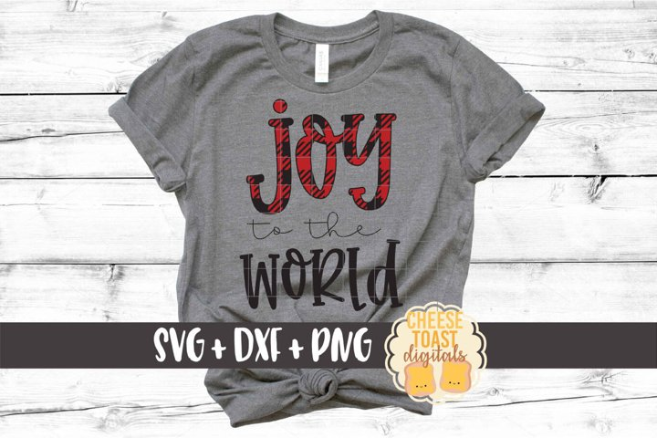 Joy To The World - Christmas SVG PNG DXF Cut Files