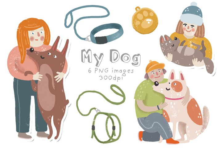My dog clipart