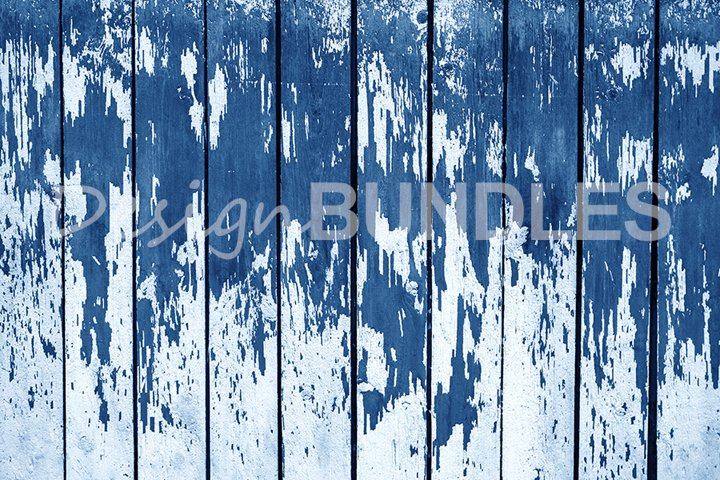 The texture of the old wooden wall in blue. Color Year 2020.