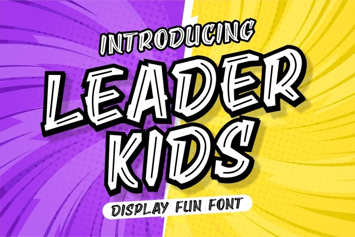 LEADER KIDS - DISPLAY FUN