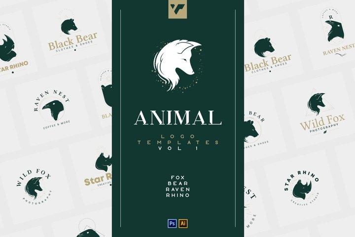 20 Animal Logo Templates - Ai, PS