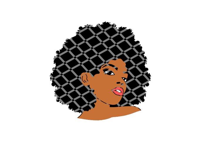 Afro Female,Rhonda svg,Black Woman svg