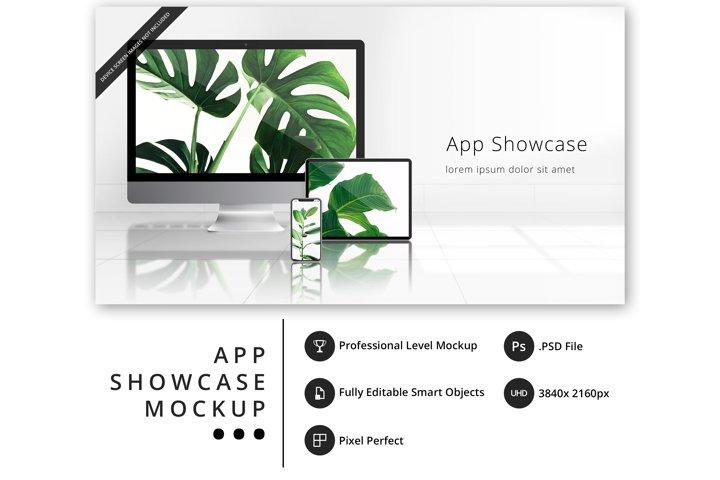 psd mockup with iPhone 11 Pro, iPad Pro, iMac Pro