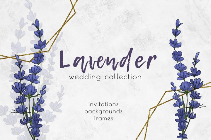 Lavender Wedding | Invitations & etc