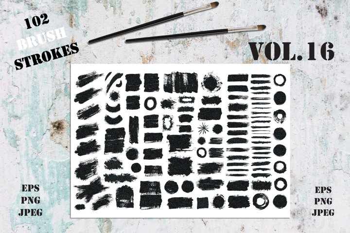 Brush Strokes Collection Vol.16