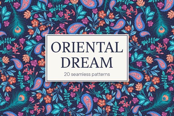 Oriental Dreams patterns