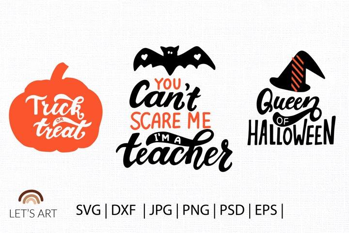 Pumpkin svg, jack lantern svg, trick or treat svg. Halloween