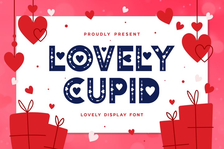 Lovely Cupid - Lovely Display Typeface
