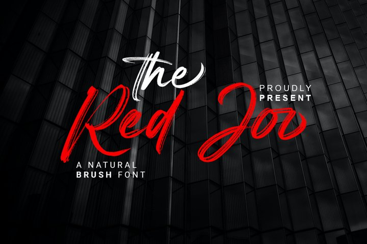 Red Joo - Natural Brush Font