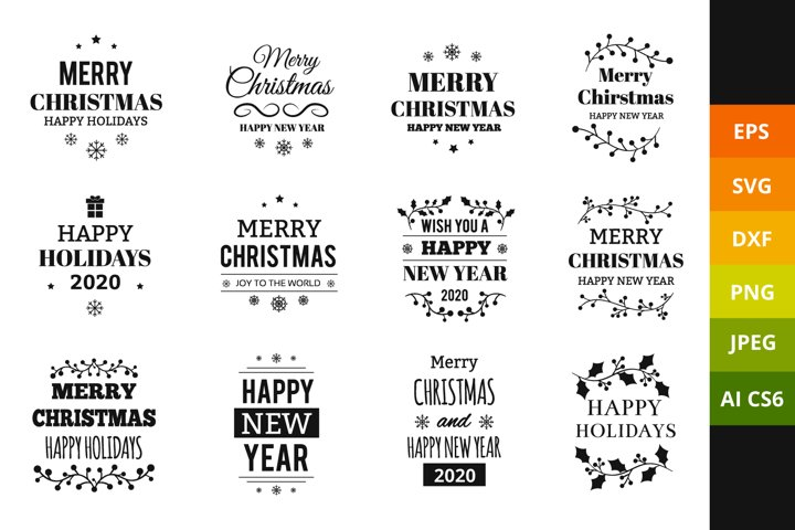 Christmas SVG Quotes Bundle