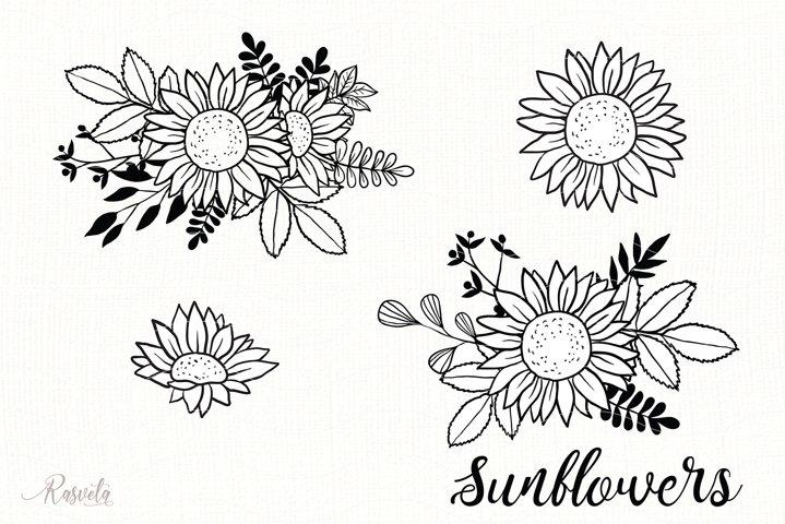 Sunflower Monogram Frames / 5