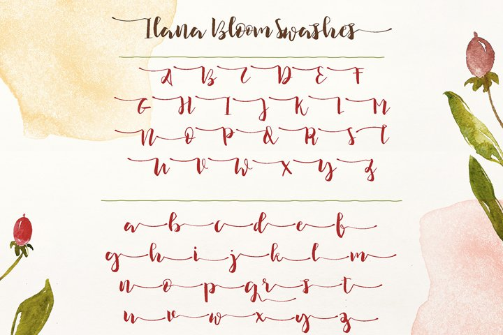 Ilana Bloom - Free Font of The Week Design4
