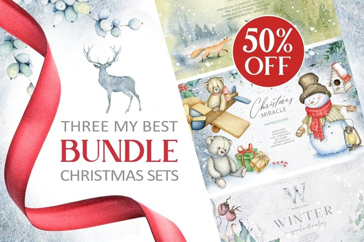 3 in 1 Christmas BUNDLE 50 OFF