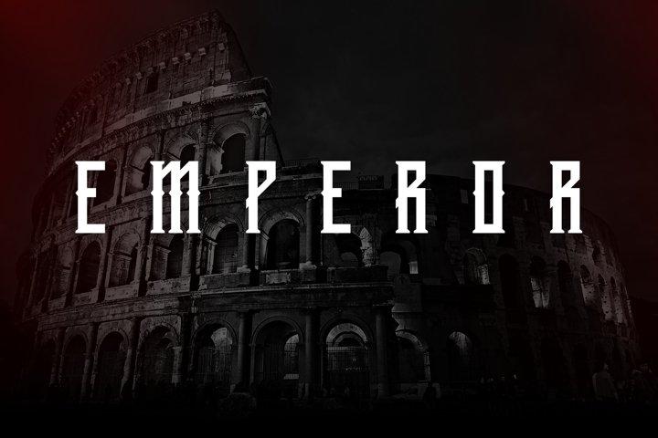 Emperor Display Typeface