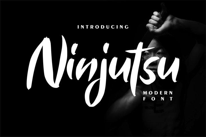 Ninjutsu | Modern Font