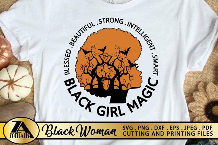 Black Girl SVG PNG EPS DXF Melanin SVG AFRO SVG Cut Files