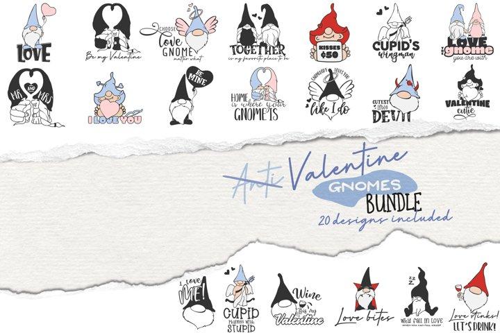 Love Gnomes SVG Bundle | Valentine Bundle SVG