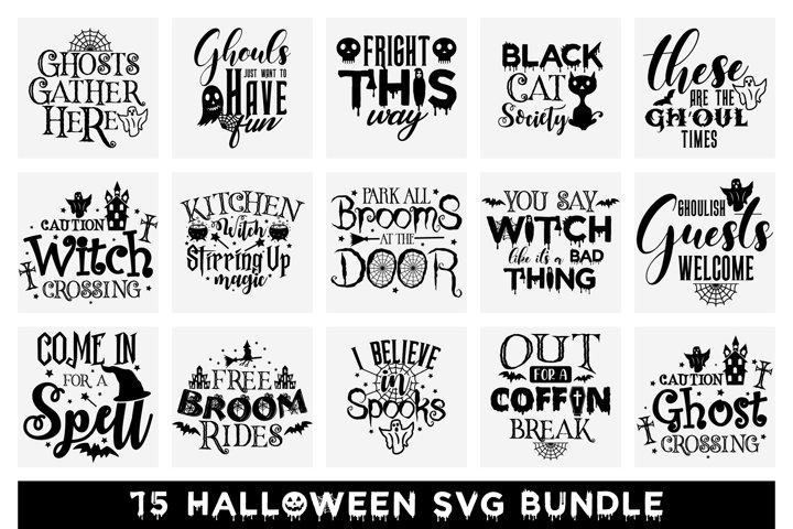 Halloween SVG Bundle, Halloween SVG Cut Files