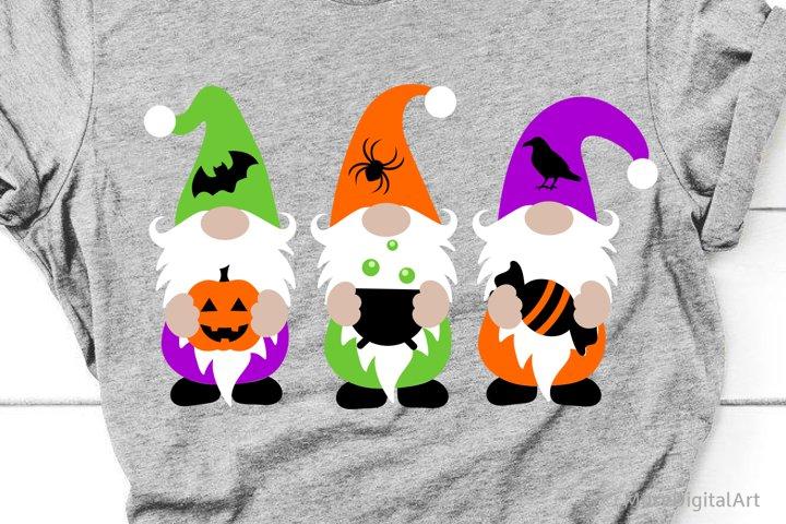 Halloween Gnomes Svg, Halloween Gnomies Svg, Kids Trick Svg