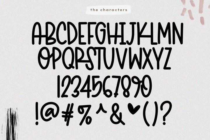 Marvelous - A Fun & Quirky Handwritten Font - Free Font of The Week Design6