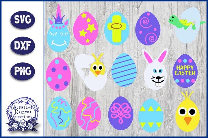 Easter Egg SVG - Easter Egg Bundle