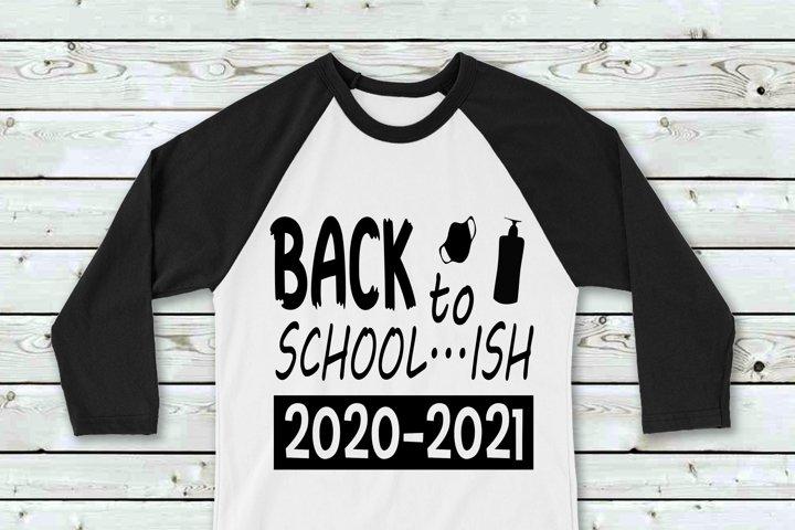 Back To School...ish SVG File Cricut & Silhouette, Cut Print