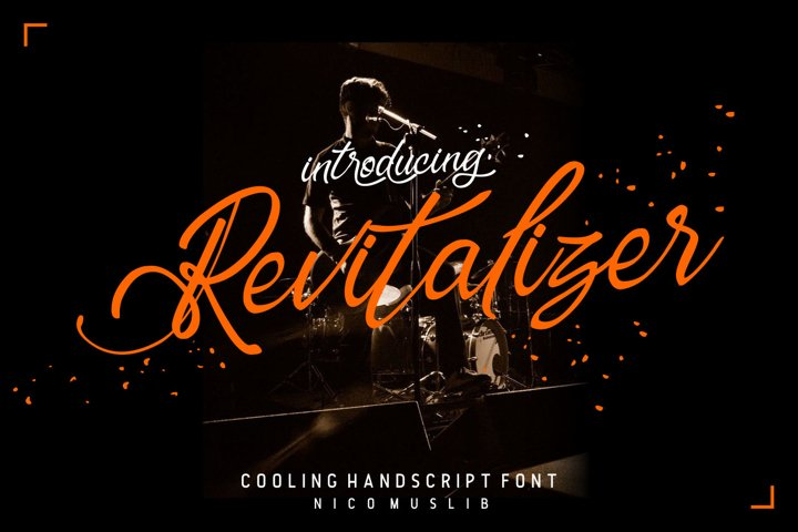 Revitalizer Modern Script