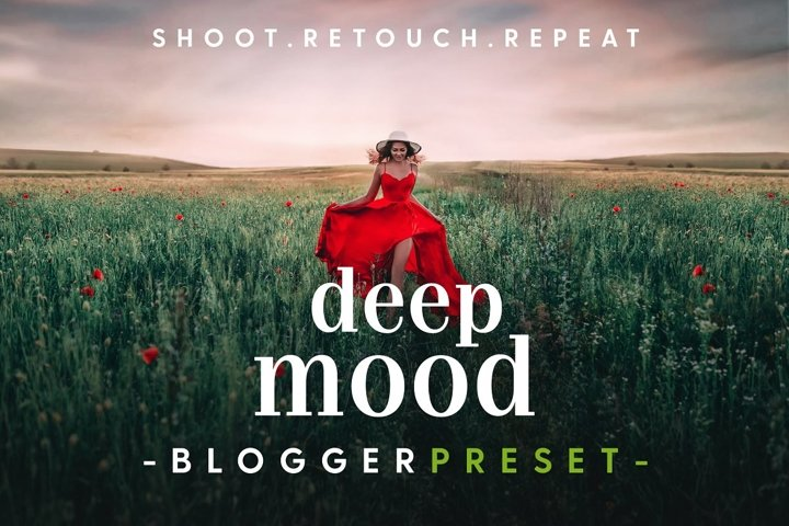 Deep Mood - Lightroom & Photoshop Camera Raw Presets