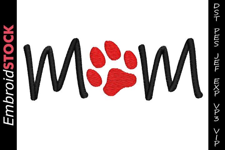 Mom Dog Paw