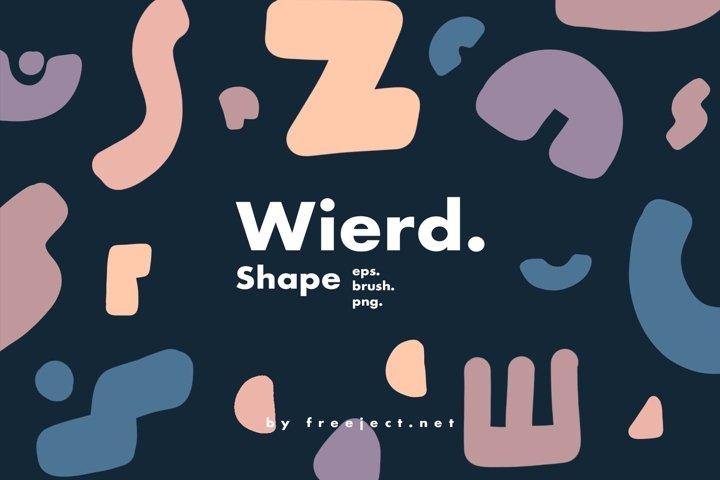Wierd Shape Photoshop Brush, Vector & PNG