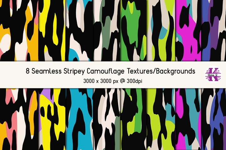 Camouflage Bundle - Backgrounds - Textures