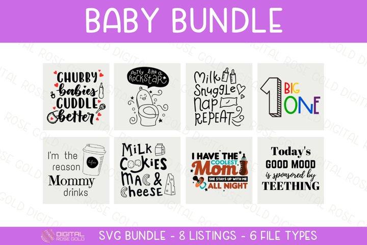 Baby Bundle - SVG BUNDLE - New Baby SVG Quote, Nursery Decor