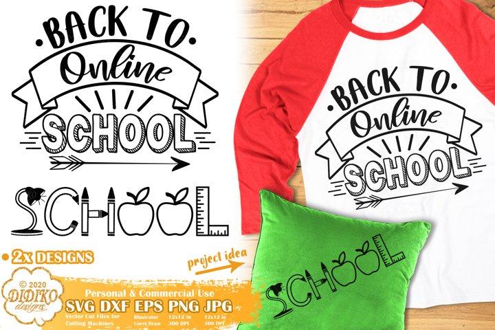 School SVG | Back to School SVG | Online School SVG