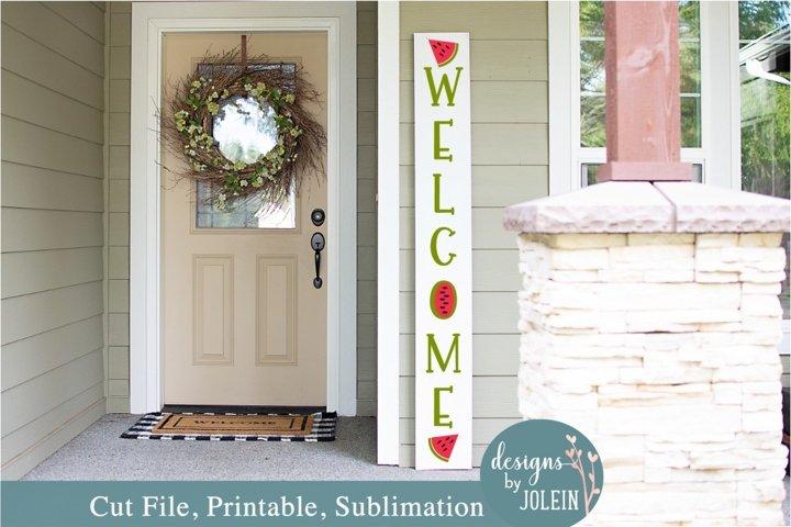 Summer Welcome Sign SVG, Sublimation, Printable