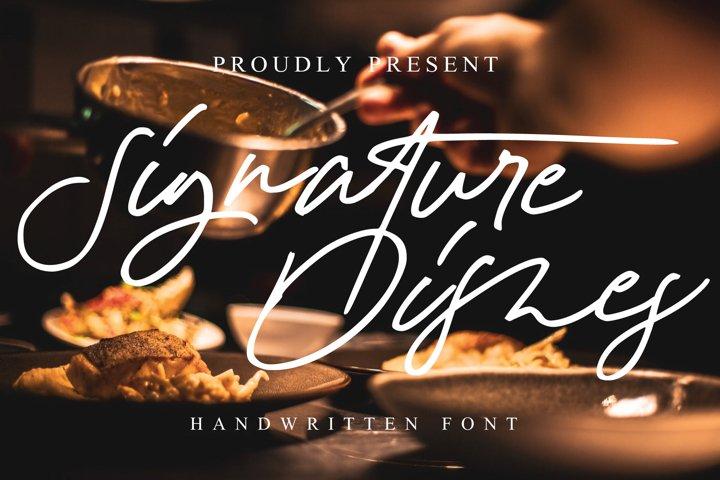 Signature Dishes