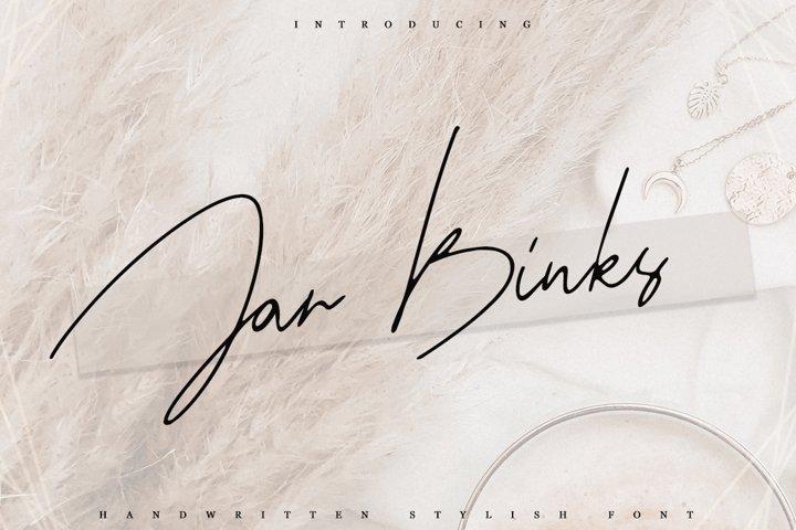 Jar Binks Latin & Cyrillic