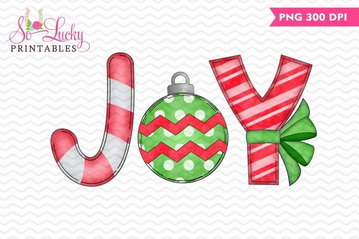 Christmas joy printable sublimation design