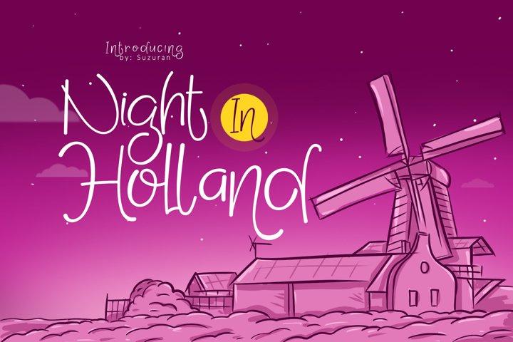 Night in Holland