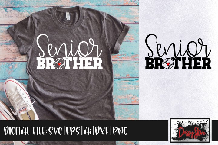 Senior Brother SVG DXF Ai EPS PNG