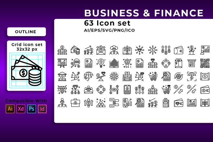 315 icon Business & Finance in 5 Style