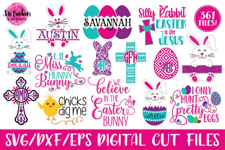 MEGA Easter Bundle - SVG, DXF, EPS Cut Files