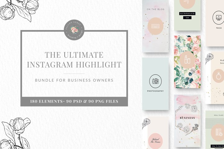 UPDATE Ultimate Instagram Highlight Set