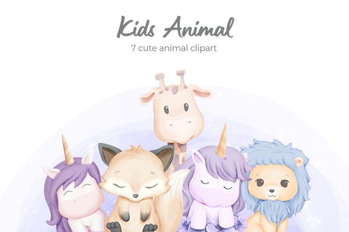 Kids Animal Vol.1
