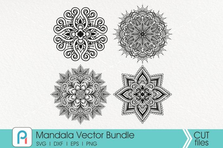 Mandala Svg, Mandala Clip Art, Zentangle Svg, Flourish Svg