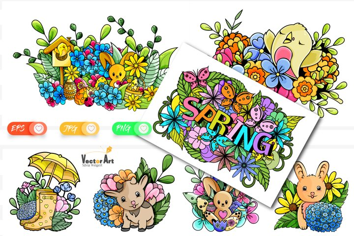 7x Easter and Spring - Mini Bundle - Print and Sublimation