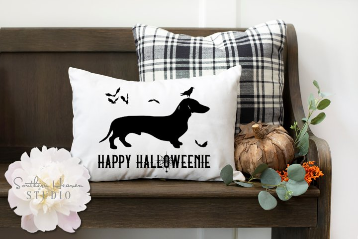 HAPPY HALLOWEENIE - SVG, PNG, DXF and EPS