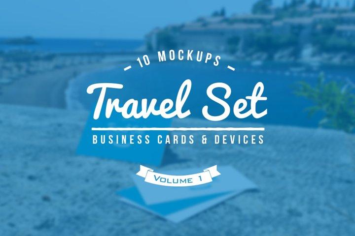 10 Fresh Business Card Mockups vol.1