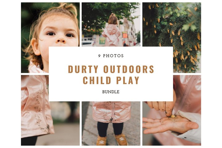 Dirty Outdoors Child Play Bundle Lifestyle 9 Photos